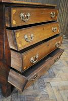 Dutch mahogany bombe commode / chest of drawers (6 of 8)
