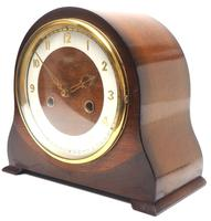 Very Good Arched Top Art Deco Mantel Clock – Smiths Striking 8-day Mantle Clock (6 of 10)