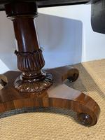 George IV Rosewood Pedestal Sofa Table (7 of 14)