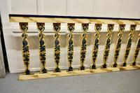 Hand Painted Wooden Railings from a Fair Ground (2 of 11)