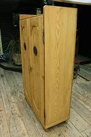 Fabulous Old Pine 2 Door Cupboard / Linen Cupboard / Food / Larder with Shelves  - We Deliver! (8 of 11)