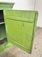 Rustic Antique Green Painted Wall Cupboard (5 of 11)