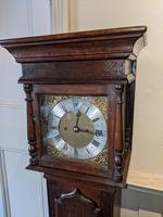 Early 20th Century Oak Granddaughter Clock (2 of 6)