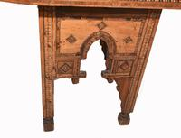 Arabic Chair Antique Damascan Furniture Inlay 1920 (6 of 10)