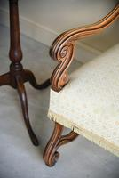 French Walnut Open Armchair (2 of 12)