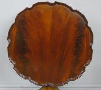 Antique Tip Top Flame Mahogany Table (2 of 5)