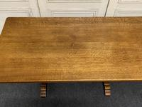 Solid Oak Refectory Dining Table (11 of 11)