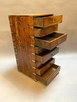 Colonial Campaign Chest of Drawers (6 of 10)