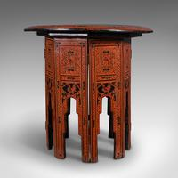 Antique Occasional Table, Oriental, Coffee, Lamp, Stand, Victorian c.1850 (3 of 12)