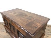 Antique Welsh Oak Coffer Bach (13 of 15)