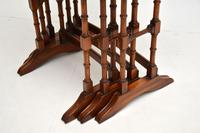 Antique Georgian Style Mahogany Nest of Tables (10 of 10)
