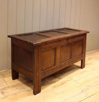 Original Late 17th Century Oak Coffer (8 of 11)