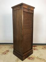 Antique French Filing Cabinet Tambour Roller Shutter (2 of 12)