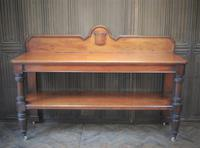 Large Antique Country House Mahogany Server / Console (7 of 7)