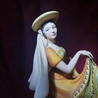 """Royal Doulton Figurine """"Dancers of the World - Mexican Dancer"""" with Original Custom Fitted Box and Certificate of Authenticity (5 of 9)"""