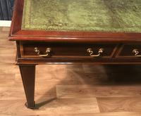 George III Style Mahogany Partners Library Table (11 of 14)