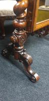 Victorian Walnut Cheval Dressing Mirror (3 of 5)
