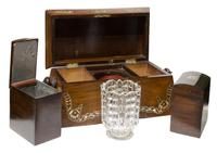 Beautiful Early 19th Century Mother of Pearl Tea Caddy (6 of 8)