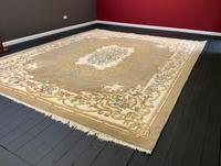 Superb Large 15x12ft Vintage Antique Indian Kayam Pure Woollen Thick Pile Rug (2 of 13)
