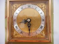 Elliott Green Onyx 8 Day Mantle Clock (2 of 7)