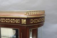American Mahogany Glazed Display Cabinet (3 of 7)