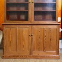 Oak Pine School Cabinet 19th Century (5 of 12)