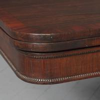 Antique William IV Rosewood Fold Over Tea Table (5 of 10)