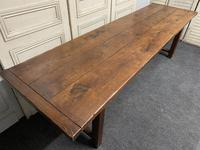 Long French Oak Farmhouse Dining Table (14 of 17)