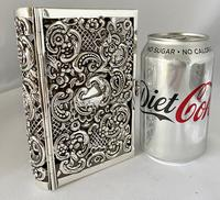 Sterling Silver Book Cover. London 1910. (5 of 8)