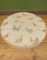 Voyage Maison Round Footstool, Game Bird Fabric (11 of 17)