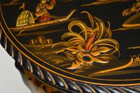 Antique Lacquered Chinoiserie Occasional Table (8 of 12)