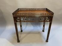 Chippendale Revival Side Table (5 of 9)