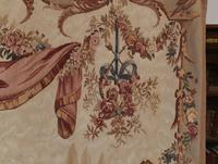 Antique French Tapestry Classical Courtly Love Romance c.1860 (11 of 17)
