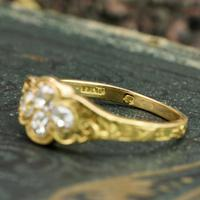 The Late Victorian Spencer of Charlotte 1892 Four Diamond Memory Ring (3 of 10)