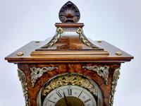 Burr Walnut Mantle Clock (6 of 7)