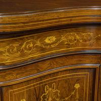 Victorian Rosewood Side Cabinet (13 of 17)