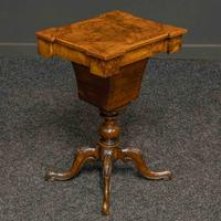 Victorian Walnut Sewing Table (9 of 12)