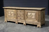 Large French Bleached Oak French Sideboard (8 of 24)