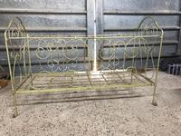 Large Victorian Cast Iron Cot (4 of 5)