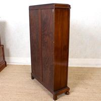 Oak Leaded Glass Bookcase (14 of 15)