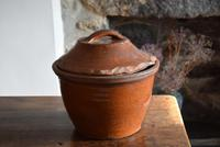 Large 19th Century Terracotta Bread Crock (5 of 10)