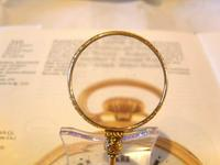Victorian Pocket Watch Chain Monocle Magnifying Fob 1880s 12ct Rose Gold Filled (7 of 11)