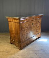 Large Louis Philippe Walnut Commode (4 of 12)