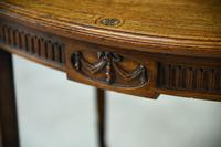 Antique Oval Centre Table (3 of 9)