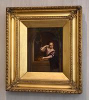 Pair of Oil Paintings after Gerrit Dou (3 of 9)