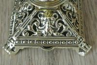 Pair of Victorian William Tonks Brass Candlesticks Register Diamond Mark '1882 WT&S' (5 of 9)