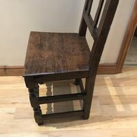 1680's Oak Pegged Chair (7 of 15)