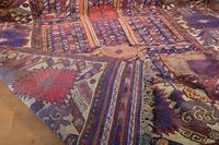 Large Mid 20th Century Colourful Flat Weave Woolen Rug (10 of 15)