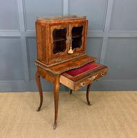 19th Century French Kingwood Bonheur Du Jour (9 of 23)
