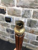 Art Deco Oak Standard Lamp (5 of 7)
